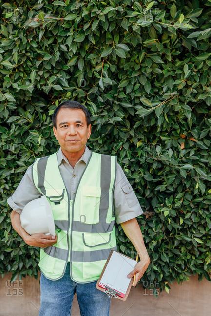 Filipino Engineer on Site - Offset