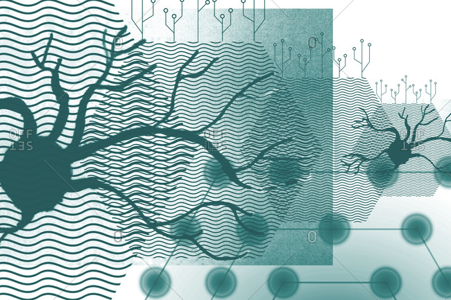 Artificial intelligence, conceptual illustration.