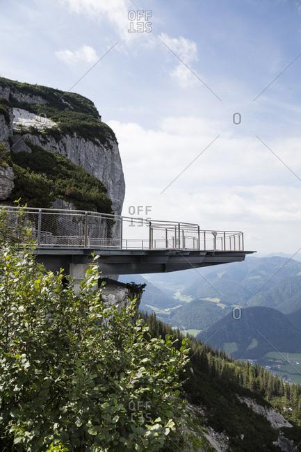 Austria- Tyrol- Waidring- scenic mountainous landscape