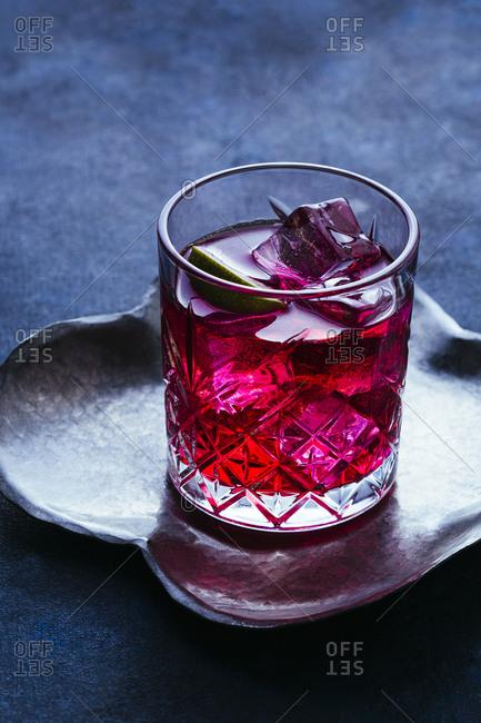 Single seabreeze cocktail