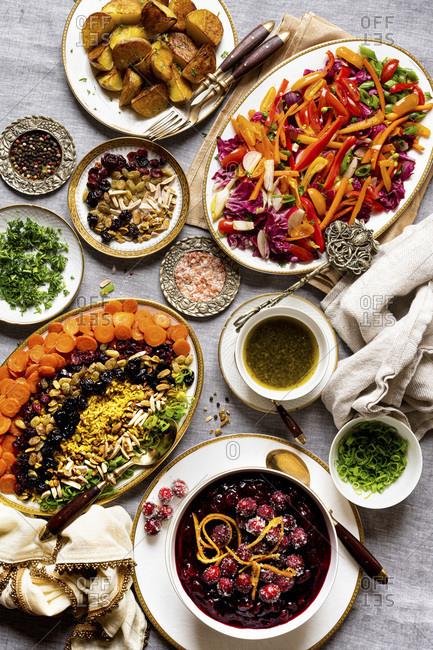 Vegetarian Christmas/Thanksgiving Dinner Sides