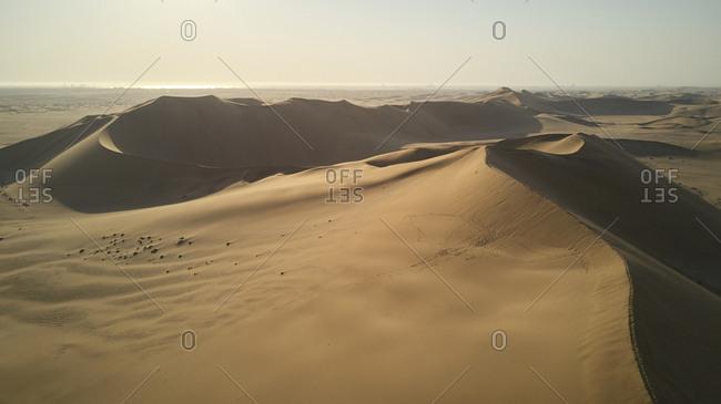 Dune landscape- Namib Desert- Namibia