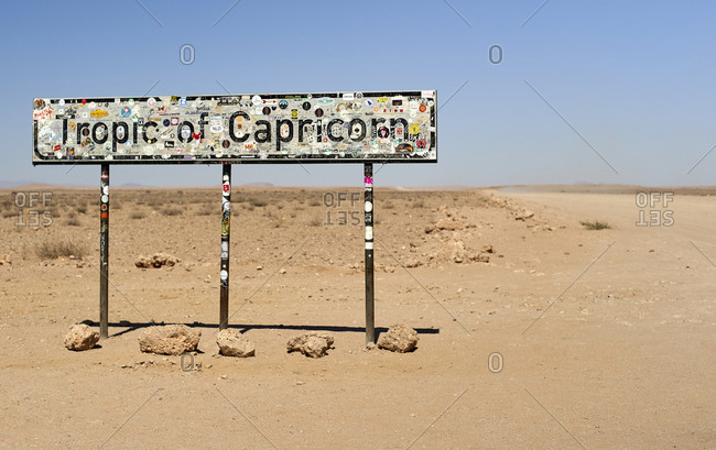 August 24, 2019: Tropic of Capricorn- Namibia