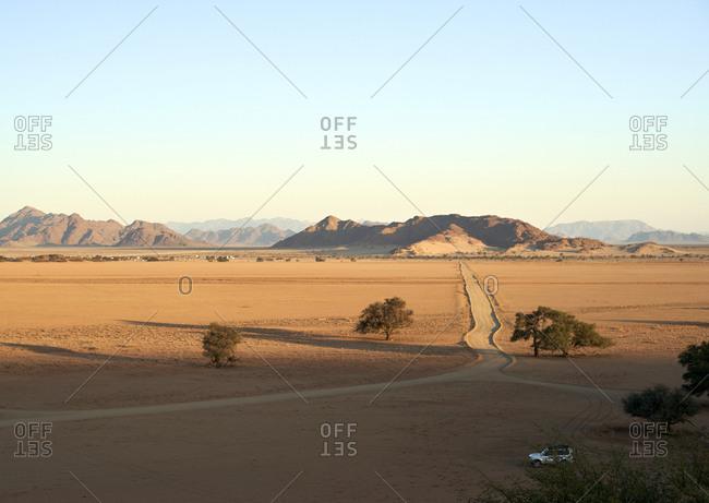 Desert landscape- Sossusvlei- Namibia