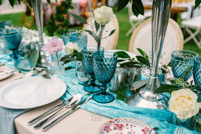 Wedding banquet table decoration