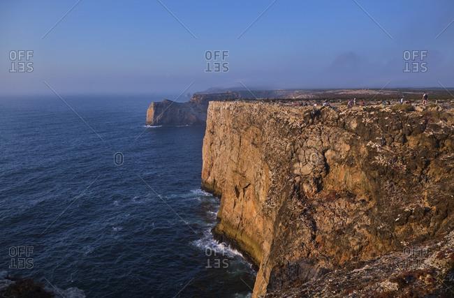 Portugal- Algarve- Cabo de Sao Vincente- southwestern most point of Europe