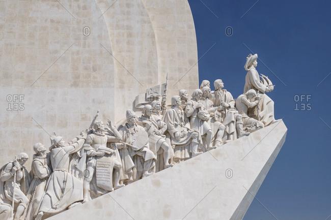 Portugal- Lisbon- Tejo- Belem- Padrao dos Descobrimentos