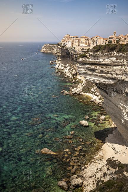 Limestone rocks- Bonifacio- Corsica- France