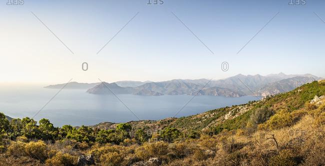 View from Belvedere de Saliccio- Piana- Corse-du-Sud- Corsica- France