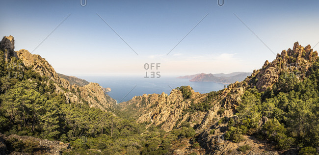 Calanchi di Piana- Calanche- Corse-du-Sud- Corsica- France