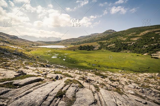 High plateau near Lac de Nino- Albertacce- Corsica- France