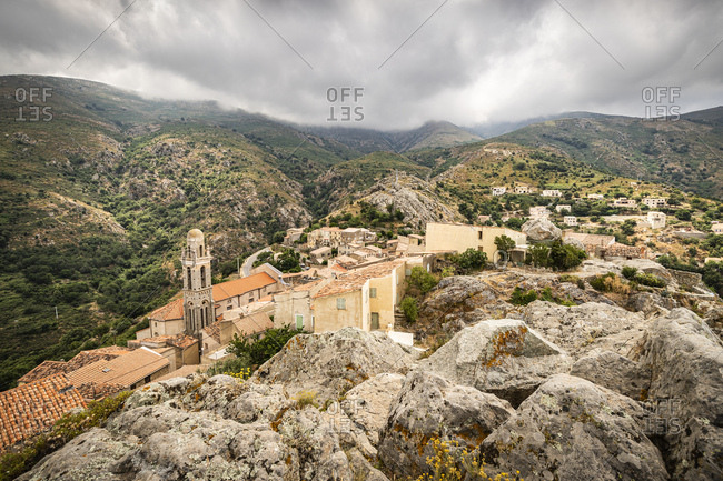 Speloncato- Corsica- France - Offset Collection