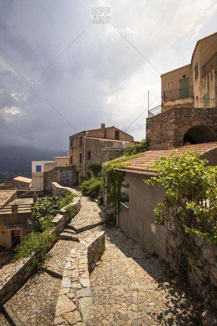 Sant'Antonino- Calvi- Corsica- France - Offset