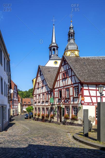 Old town of Meisenheim- Germany