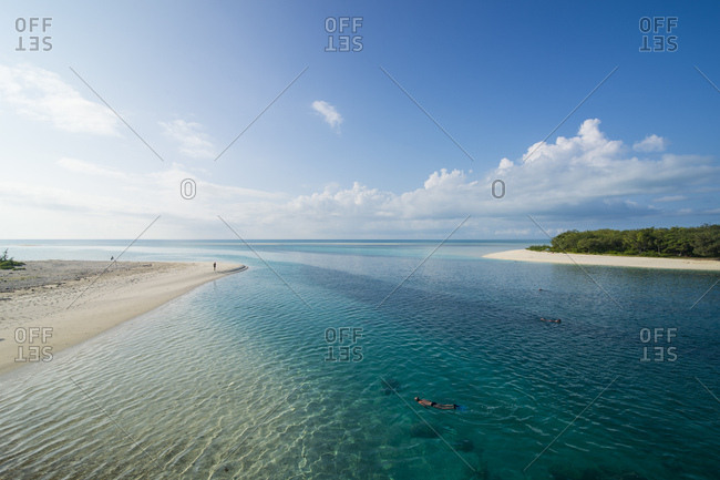 Scenic view of beautiful lagoon of Ouvea- Loyalty Islands- New Caledonia