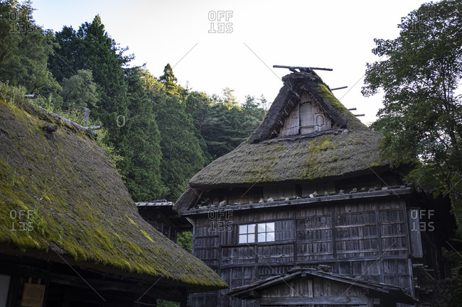 Japan- Takayama- Traditional Japanese house at Hida Folk Village