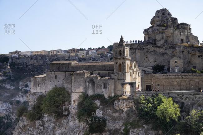 Italy- Basilicata- Matera- San Pietro Caveoso church