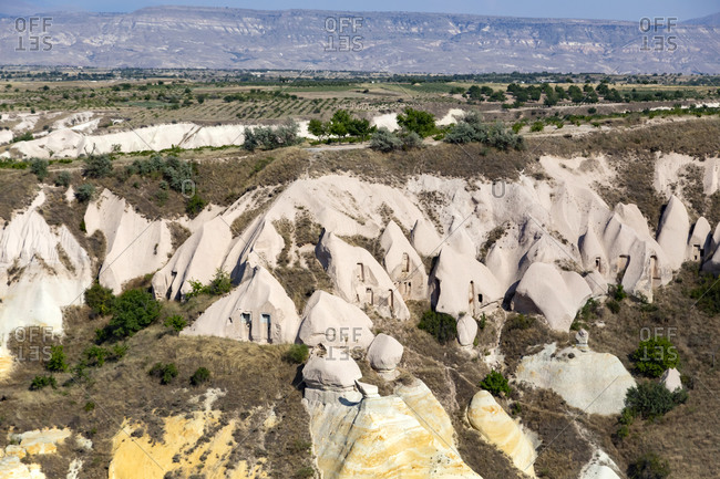 Scenic view of landscape at Pigeon Valley- Cappadocia- Turkey