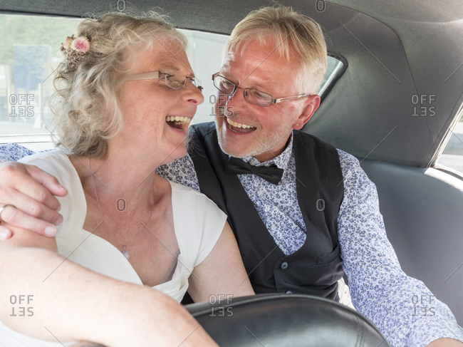 Senior couple marrying - Offset Collection