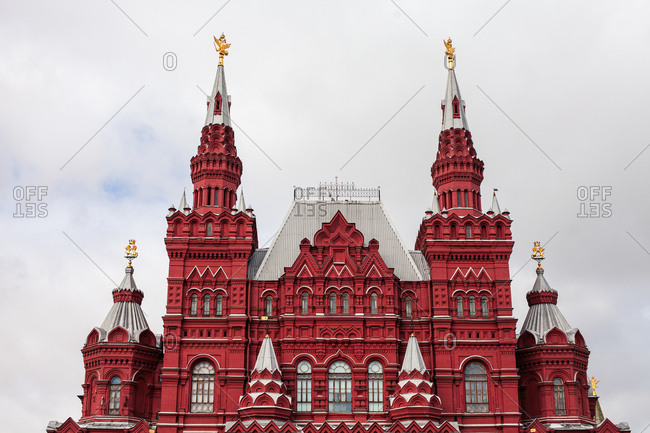 Moscow, Russia - March 13, 2012: The State Historical Museum