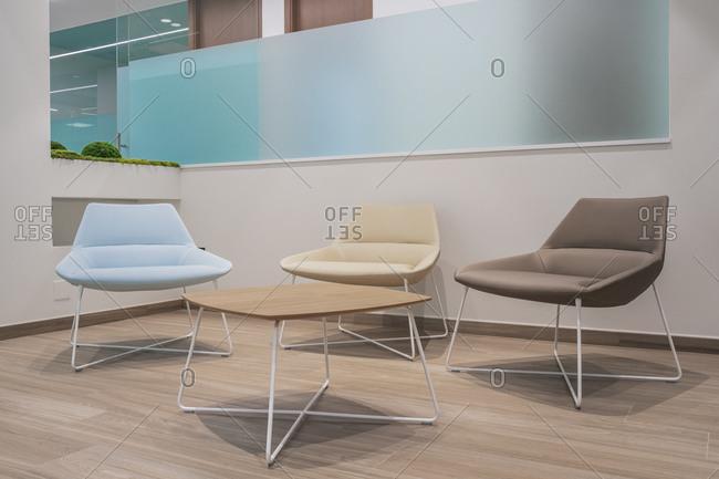 Interior of modern dental clinic- Spain
