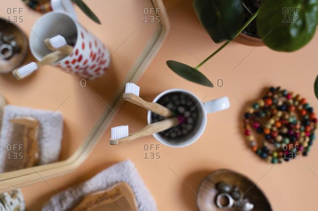 Zero waste eco-friendly bamboo toothbrushes