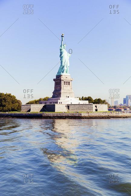 USA- New York- New York City- Statue of Liberty