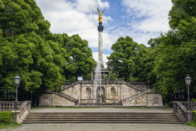 Angel of Peace- monument of peace- Munich- Bavaria- Germany