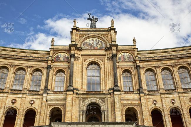 Bavarian Parliament- Maximilianeum- Munich- Bavaria- Germany