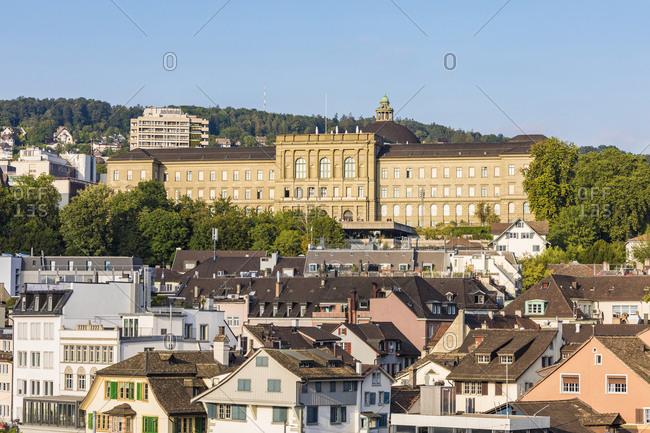 August 22, 2019: Switzerland- Canton of Zurich- Zurich- Swiss Federal Institute of Technology in Zurich