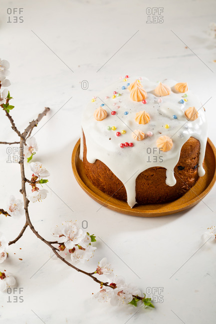 Russian Easter bread cakes