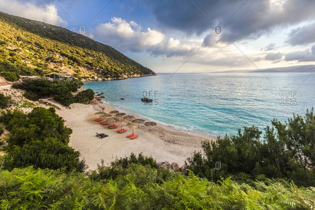 Magnificent seashore of Kefalonia island