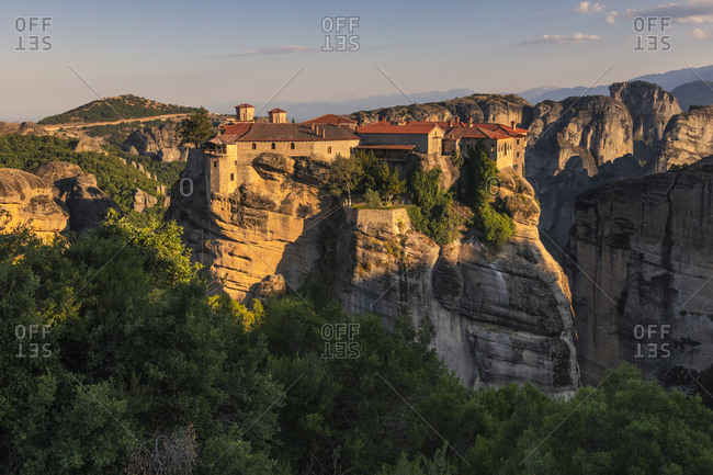 Meteora rock monastery