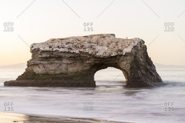 Natural Bridges State Beach. Santa Cruz, California, USA.