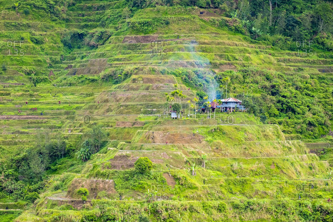 Banaue rice terraces, Cordillera Administrative Region, Philippines