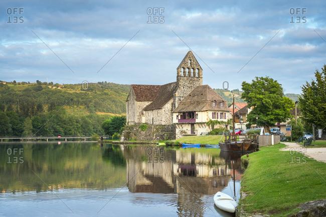 France, Nouvelle-Aquitaine, Beaulieu-sur-Dordogne - September 15, 2013: Beaulieu-sur-Dordogne, Limousin, France