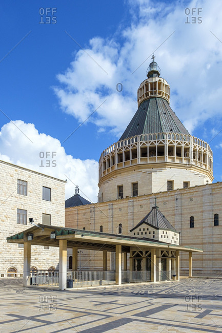 Basilica of the Annunciation, Nazareth, North District, Israel.
