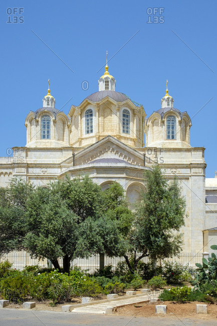 Holy Trinity Cathedral, Russian Orthodox Church, Jerusalem, Israel