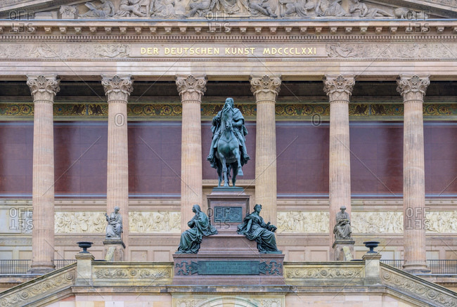 Alte Nationalgalerie (Old National Gallery) on Museumsinsel, Berlin