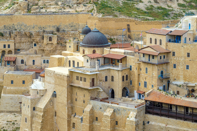 Holy Lavra of Saint Sabbas, Mar Saba monastery, West Bank, Palestine