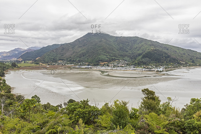 New Zealand- Marlborough Region- Havelock- Coastal village on shore of Pelorus Sound