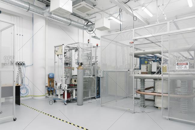Interior of a technology center