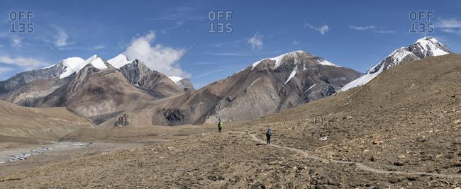 Hidden Valley- Sechi Lek- Dhampus Peak- Dhaulagiri Circuit Trek- Himalaya- Nepal