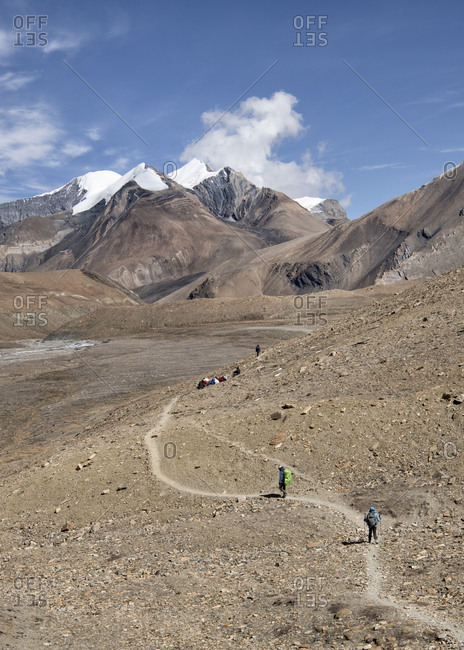 Hidden Valley- Sechi Lek- Dhaulagiri Circuit Trek- Himalaya- Nepal