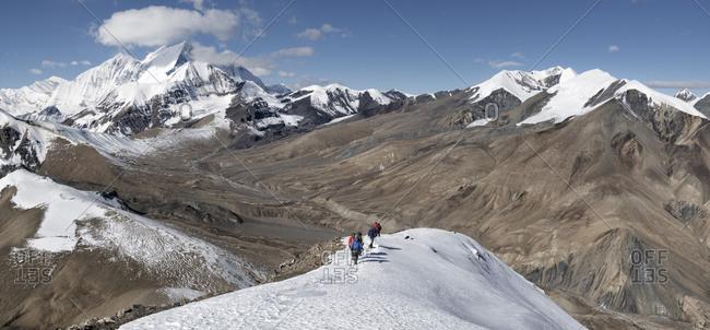 Tukuche Peak from Dhampus Peak- Dhaulagiri Circuit Trek- Himalaya- Nepal