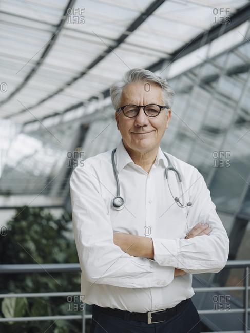 Portrait of a confident senior doctor