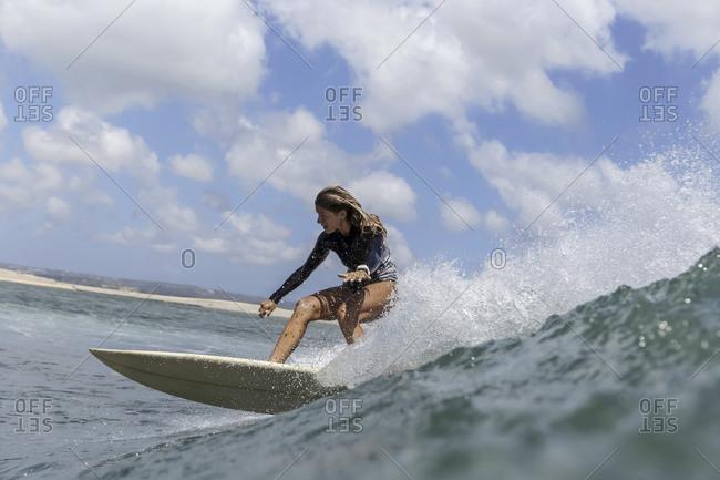 Female Surfer- Bali- Indonesia