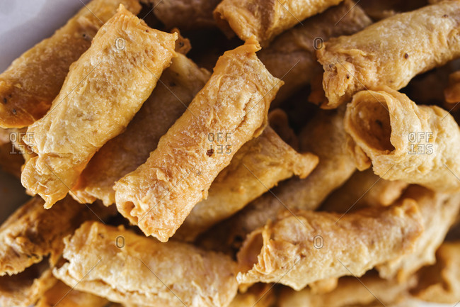 Spanish Christmas pastry Pestinos