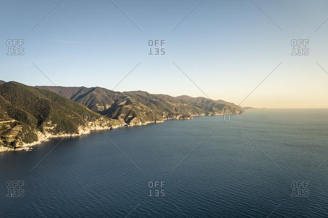 Coastline at Monterosso al Mare- Liguria- Italy