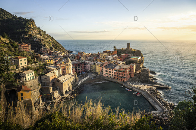 Townscape of Vernazza- Liguria- Italy